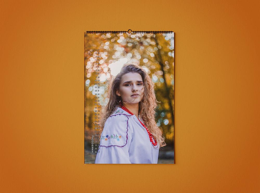 Kalendarz Beautifolk 2021 - październik